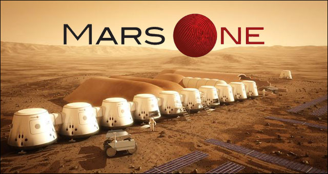 Mars One TV show