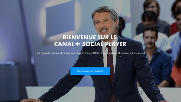 Le Social Player by Canal +